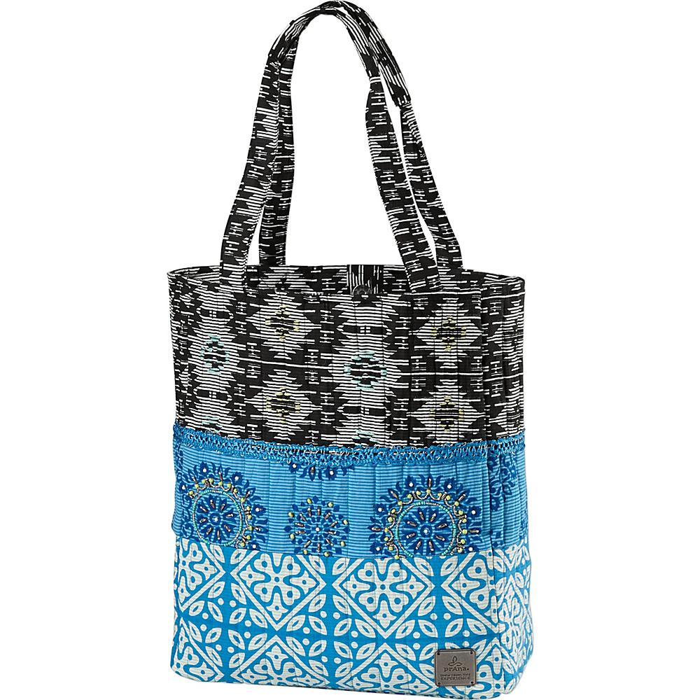 PrAna Bhakti Tote Electro Blue - PrAna Fabric Handbags - Handbags, Fabric Handbags