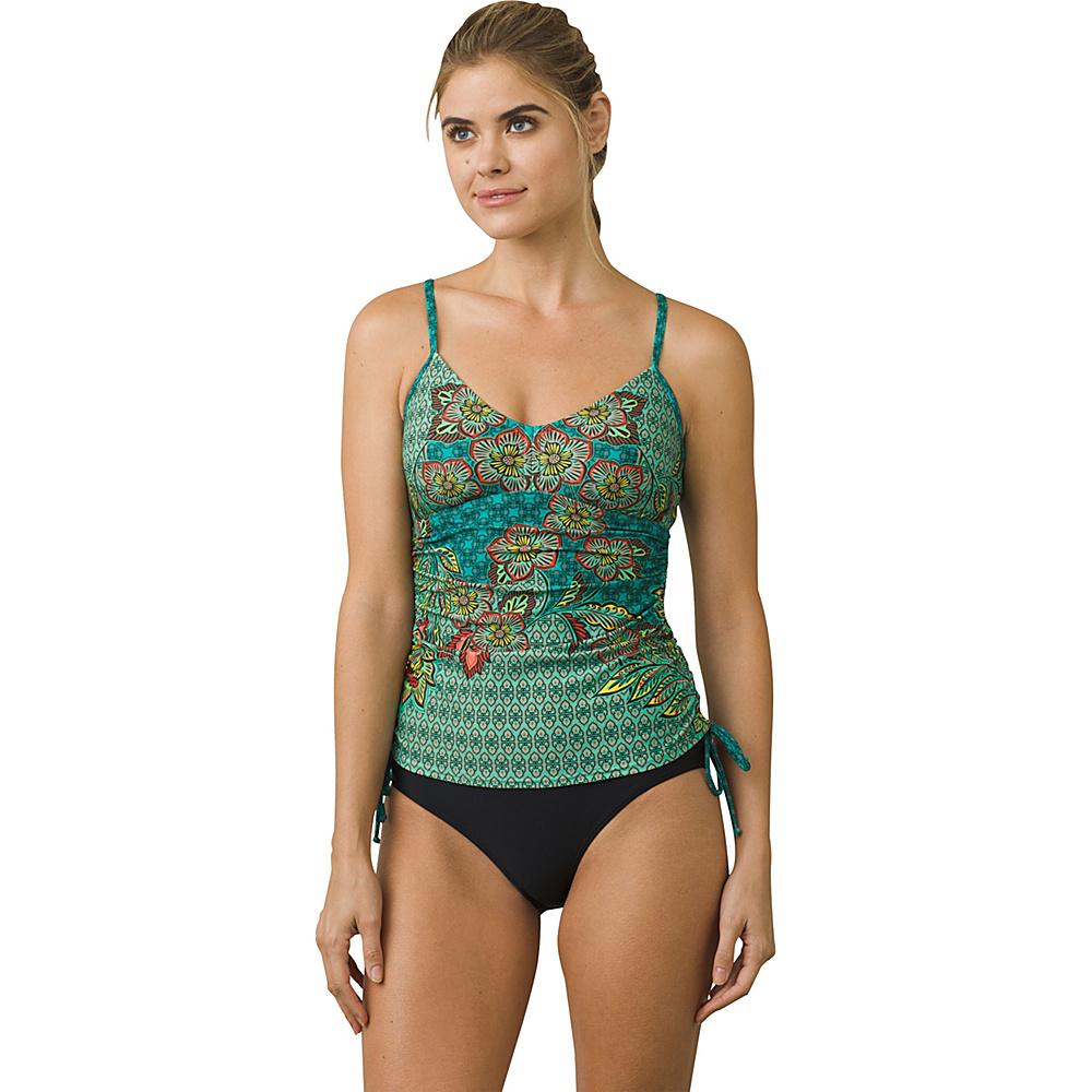 PrAna Moorea Tankini Top XS - Dragonfly Fleur Damour - PrAna Womens Apparel - Apparel & Footwear, Women's Apparel