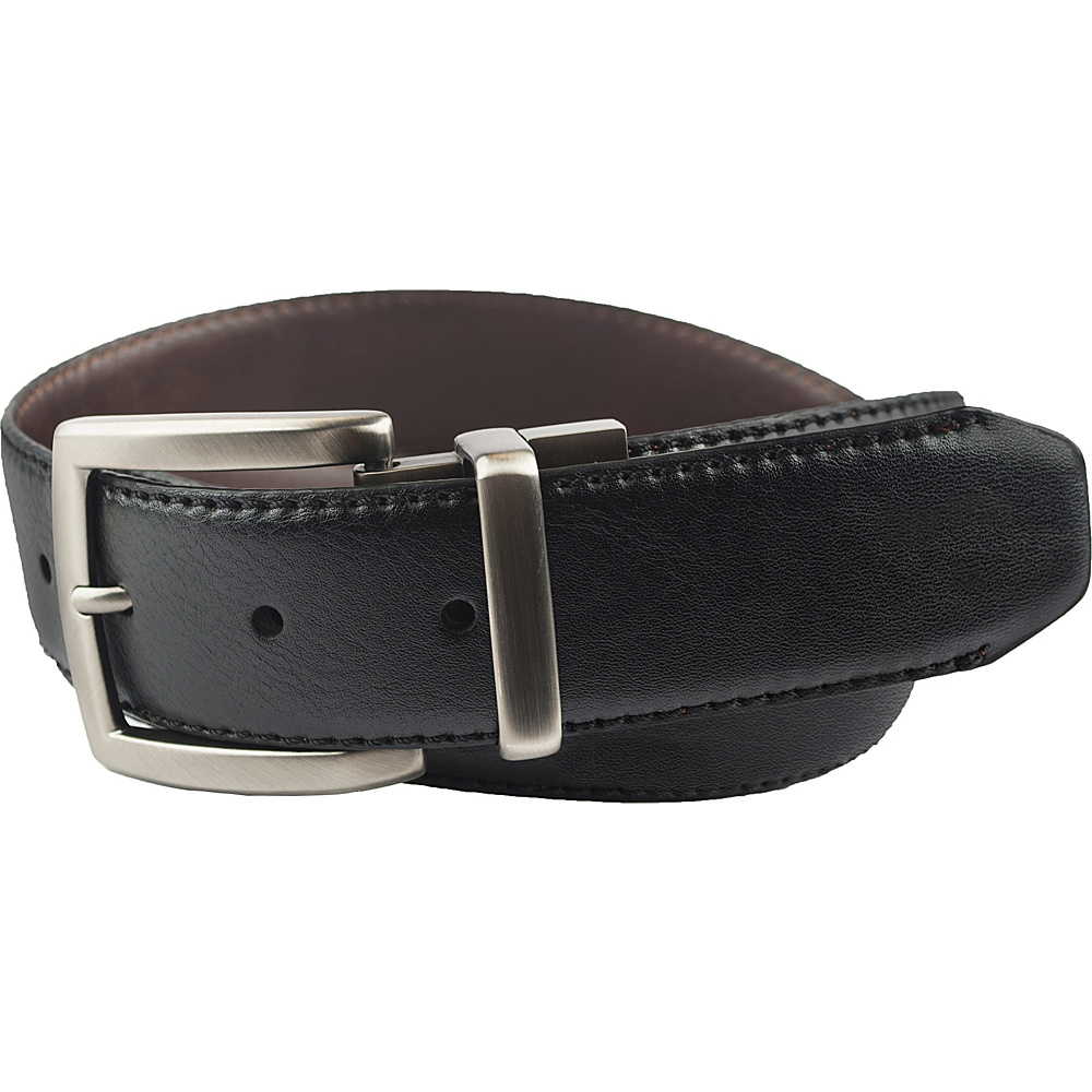 Columbia 38MM Reversible with Columbia Gem Logo on Buckle Black Brown 42 Columbia Other Fashion Accessories
