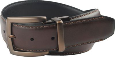 Columbia 38MM Reversible with Columbia Gem Logo on Buckle 34 - Brown/Black - 32 - Columbia Other Fashion Accessories