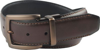 Columbia 38MM Reversible with Columbia Gem Logo on Buckle 38 - Brown/Black - 32 - Columbia Other Fashion Accessories