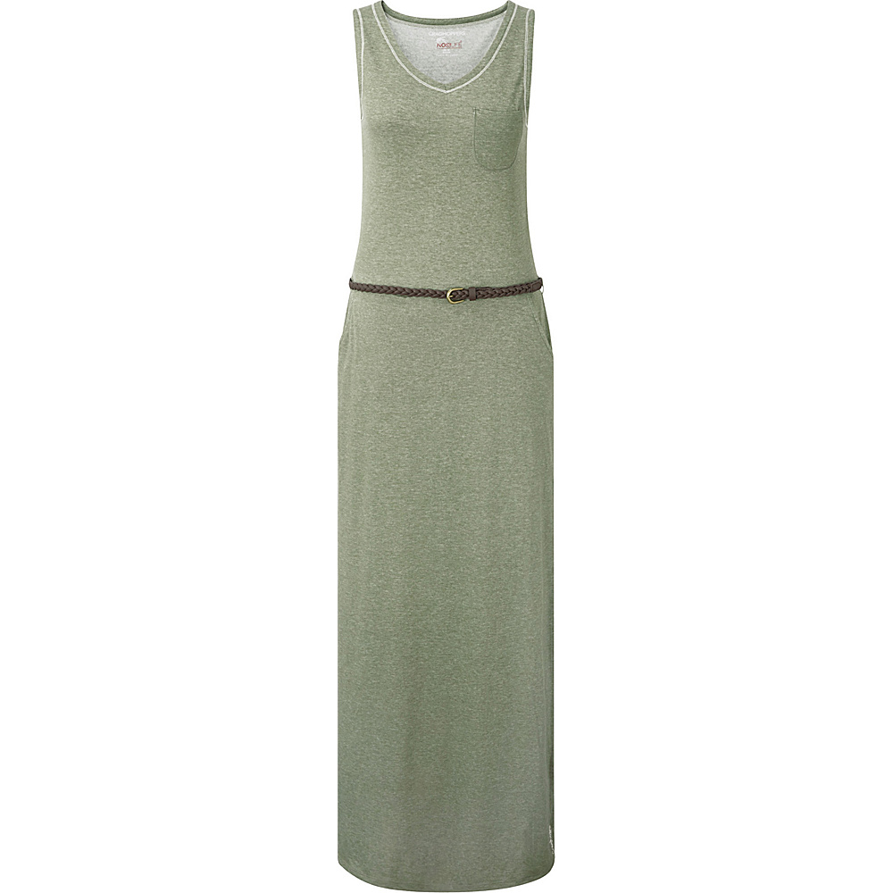 Craghoppers Nosilife Amiee Maxi Dress 8 - Soft Moss Marl - Craghoppers Womens Apparel - Apparel & Footwear, Women's Apparel
