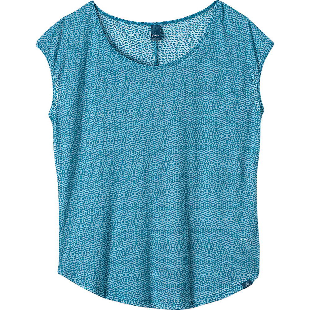 PrAna Tandi Top XL - Harbor Blue - PrAna Womens Apparel - Apparel & Footwear, Women's Apparel