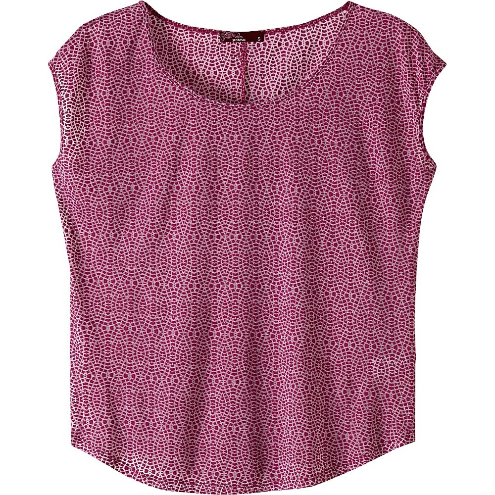 PrAna Tandi Top XS - Rich Fuchsia - PrAna Womens Apparel - Apparel & Footwear, Women's Apparel