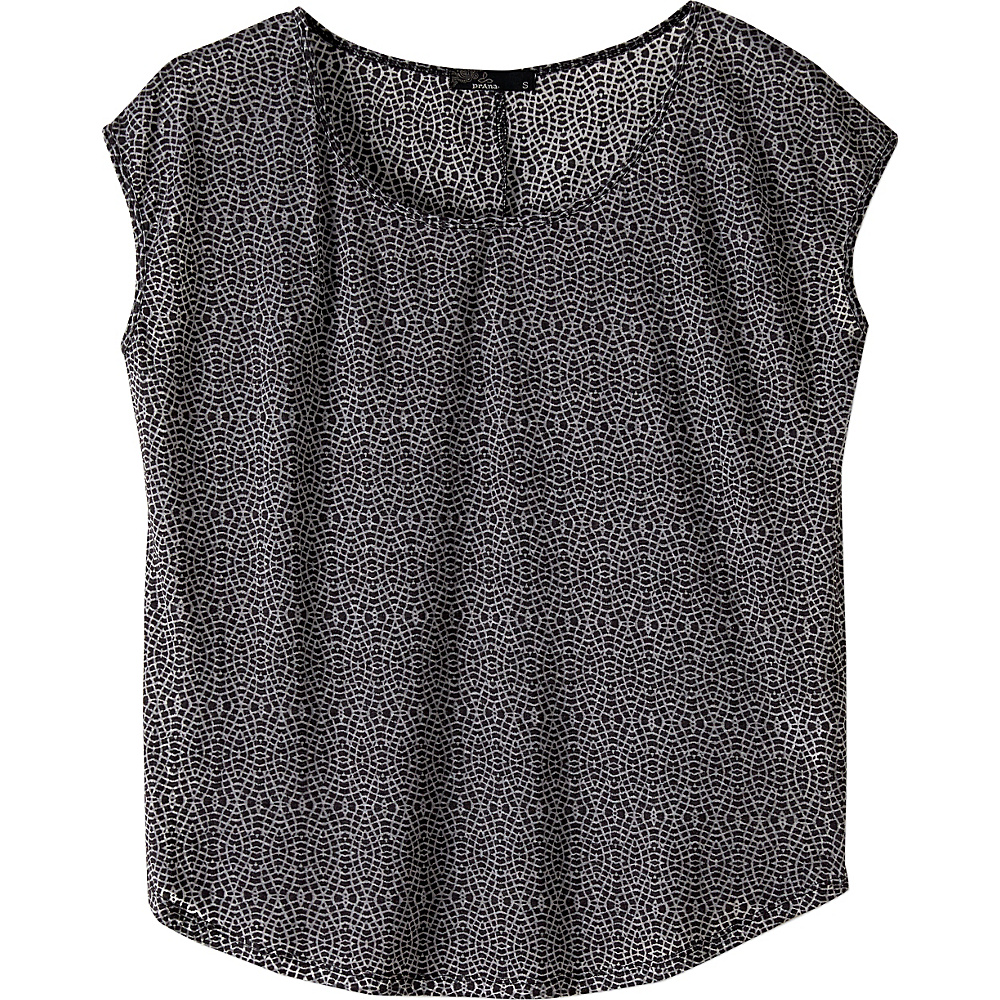 PrAna Tandi Top M - Black - PrAna Womens Apparel - Apparel & Footwear, Women's Apparel