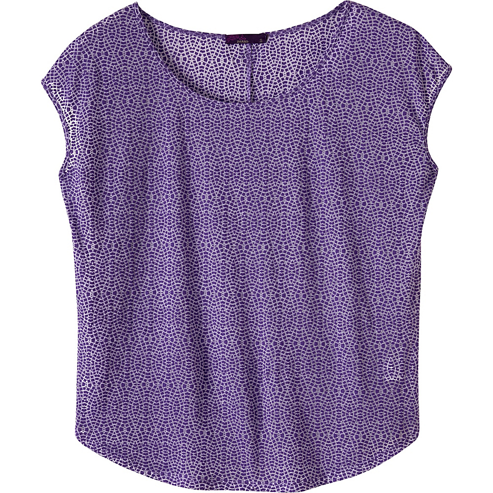 PrAna Tandi Top S - Ultra Violet - PrAna Womens Apparel - Apparel & Footwear, Women's Apparel
