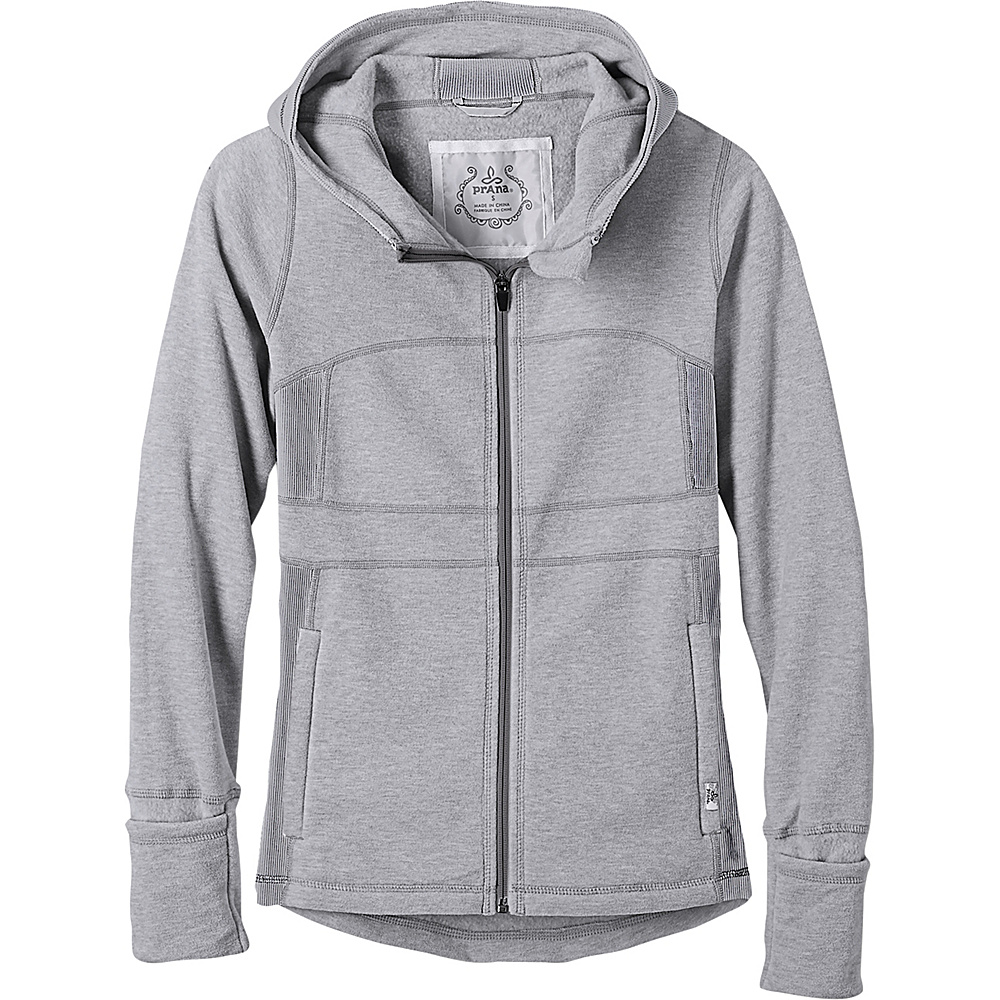 PrAna Drea Jacket L - Silver - PrAna Womens Apparel - Apparel & Footwear, Women's Apparel
