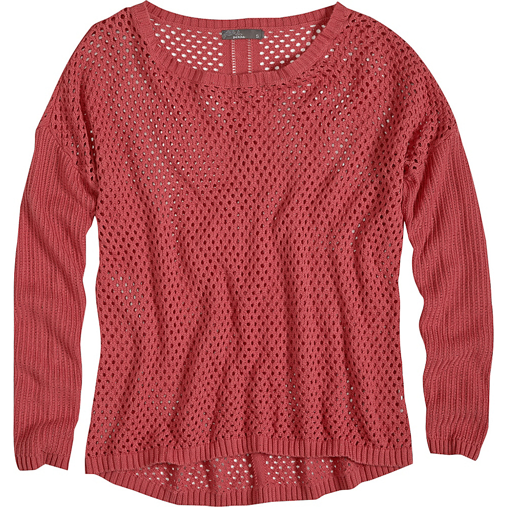 PrAna Parker Sweater XL - Red Slate - PrAna Womens Apparel - Apparel & Footwear, Women's Apparel