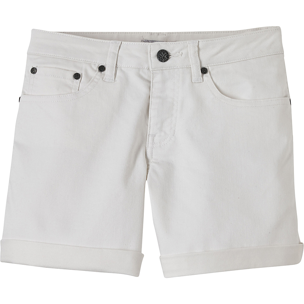 PrAna Kara Short 8 - White - PrAna Womens Apparel - Apparel & Footwear, Women's Apparel