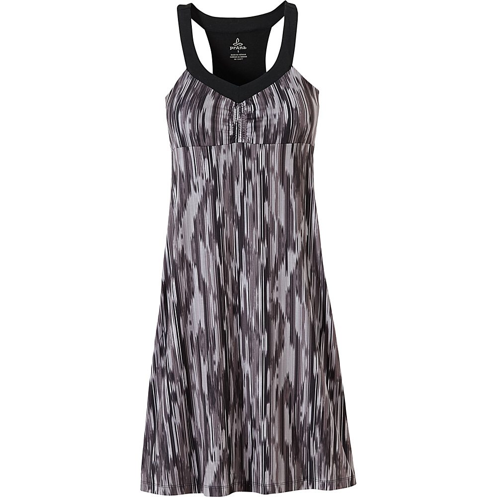 PrAna Shauna Dress XS - Black Rainblur - PrAna Womens Apparel - Apparel & Footwear, Women's Apparel