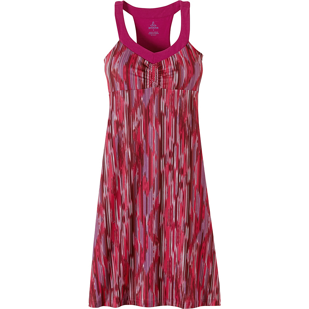 PrAna Shauna Dress S - Azalea Rainblur - PrAna Womens Apparel - Apparel & Footwear, Women's Apparel