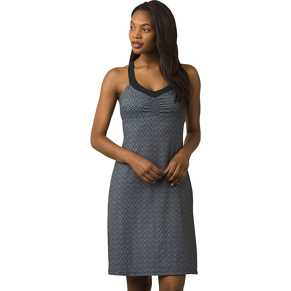 PrAna Shauna Dress XS - Charcoal Compass - PrAna Womens Apparel - Apparel & Footwear, Women's Apparel