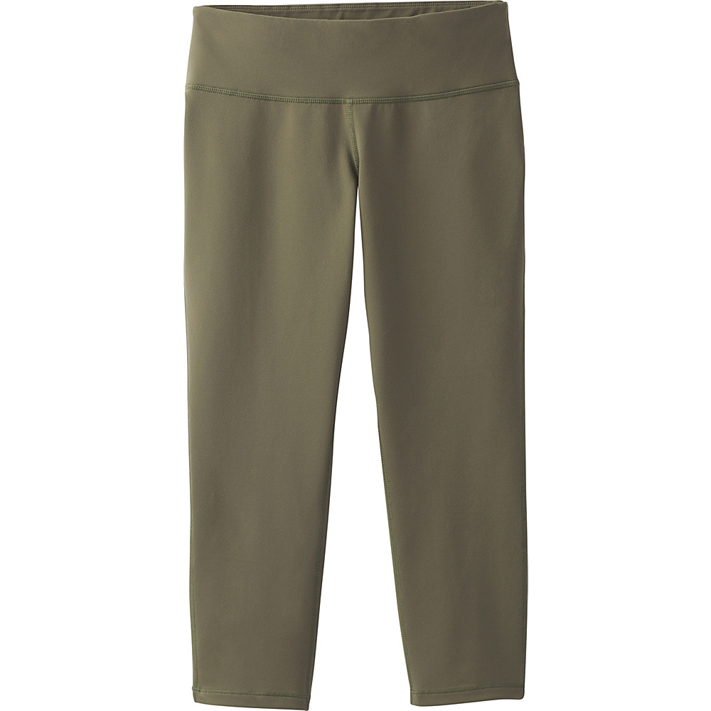 PrAna Ashley Capri Leggings M - Cargo Green - PrAna Womens Apparel - Apparel & Footwear, Women's Apparel
