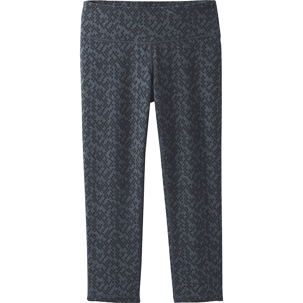 PrAna Ashley Capri Leggings XL - Charcoal Heather Puzzled - PrAna Womens Apparel - Apparel & Footwear, Women's Apparel