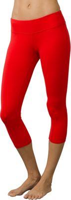 PrAna Ashley Capri Leggings M - Heather Grey - PrAna Women's Apparel