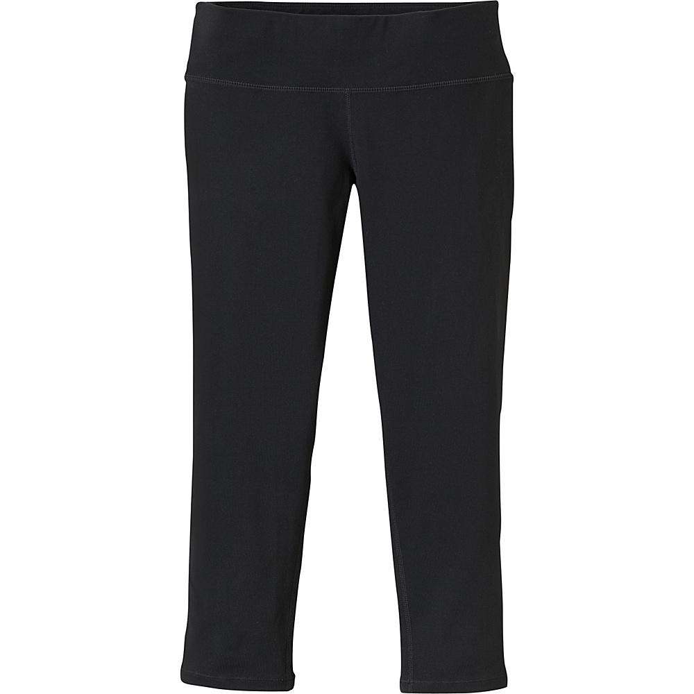 PrAna Ashley Capri Leggings XS - Black - PrAna Womens Apparel - Apparel & Footwear, Women's Apparel