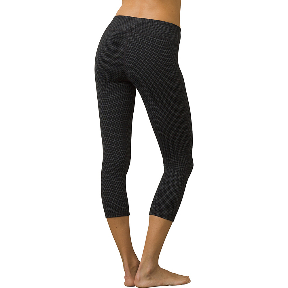 PrAna Ashley Capri Leggings M - Charcoal Heather Confetti - PrAna Womens Apparel - Apparel & Footwear, Women's Apparel