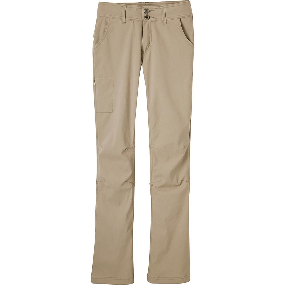 PrAna Halle Pants - Tall Inseam 6 - Dark Khaki - PrAna Womens Apparel - Apparel & Footwear, Women's Apparel