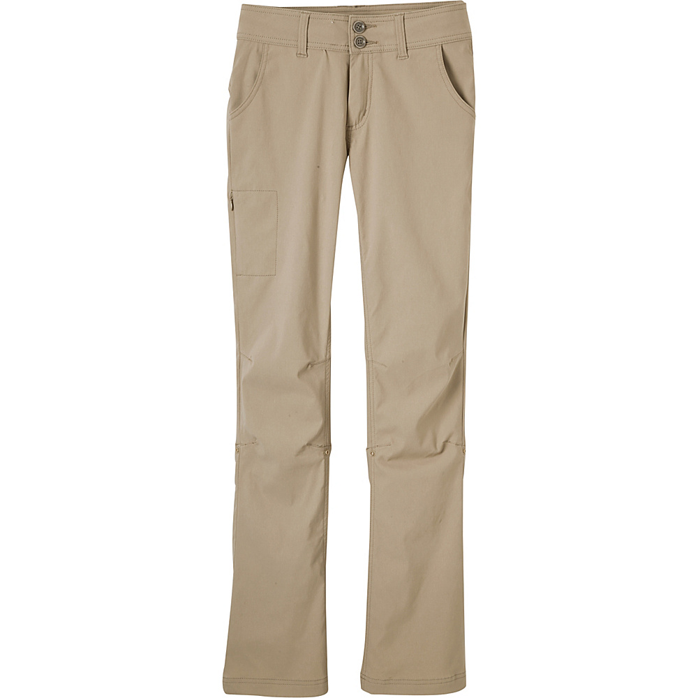 PrAna Halle Pants - Tall Inseam 8 - Dark Khaki - PrAna Womens Apparel - Apparel & Footwear, Women's Apparel