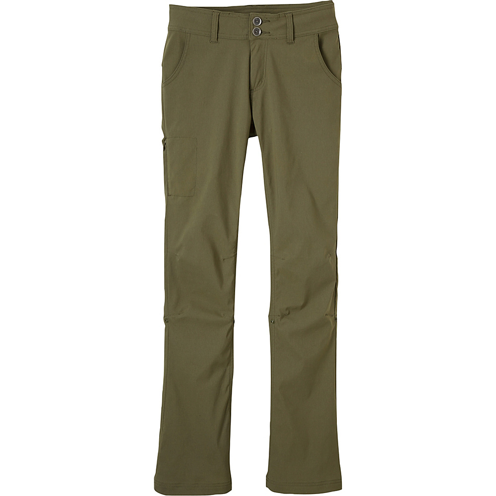PrAna Halle Pants - Tall Inseam 0 - Cargo Green - PrAna Womens Apparel - Apparel & Footwear, Women's Apparel
