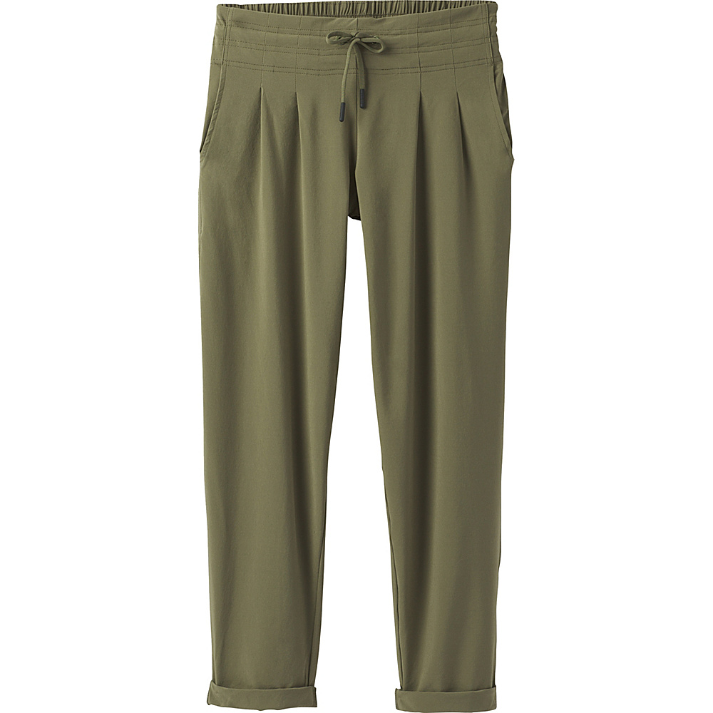 PrAna Uptown Pants L - Cargo Green - PrAna Womens Apparel - Apparel & Footwear, Women's Apparel
