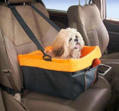 High Road High Road Wag 'n Ride Doggie Sidecar Pet Booster Seat Black - High Road Trunk and Transport Organization