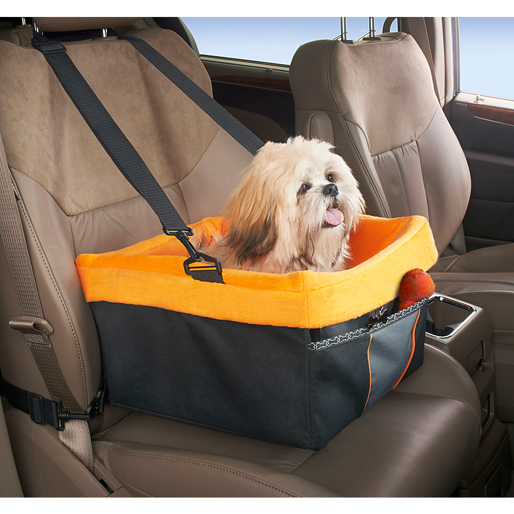 High Road Wag n Ride Doggie Sidecar Pet Booster Seat Black High Road Trunk and Transport Organization