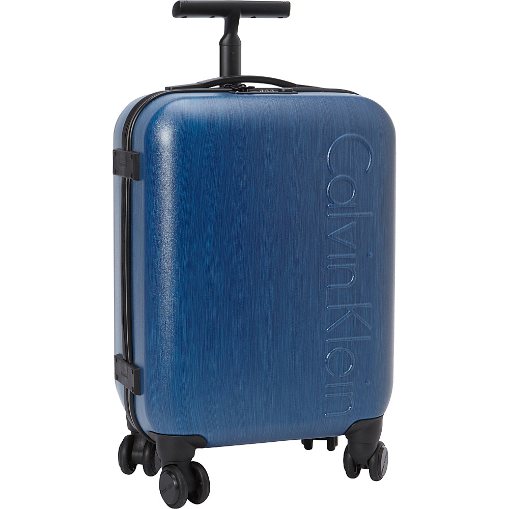 Calvin Klein Luggage Southampton 2.0 20 Carry On Hardside Spinner Blue Calvin Klein Luggage Hardside Carry On