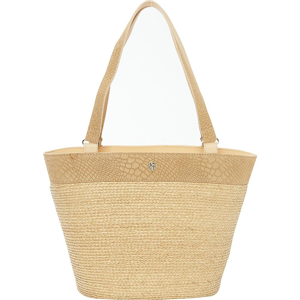 Helen Kaminski Kela Tote Natural/Honey - Helen Kaminski Designer Handbags