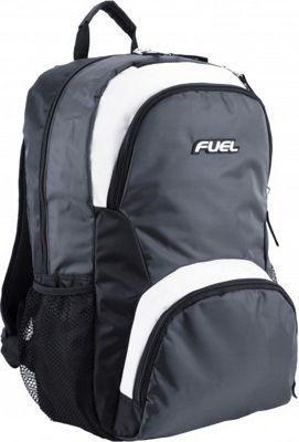 Fuel Valor Backpack Black & White - Fuel Everyday Backpacks