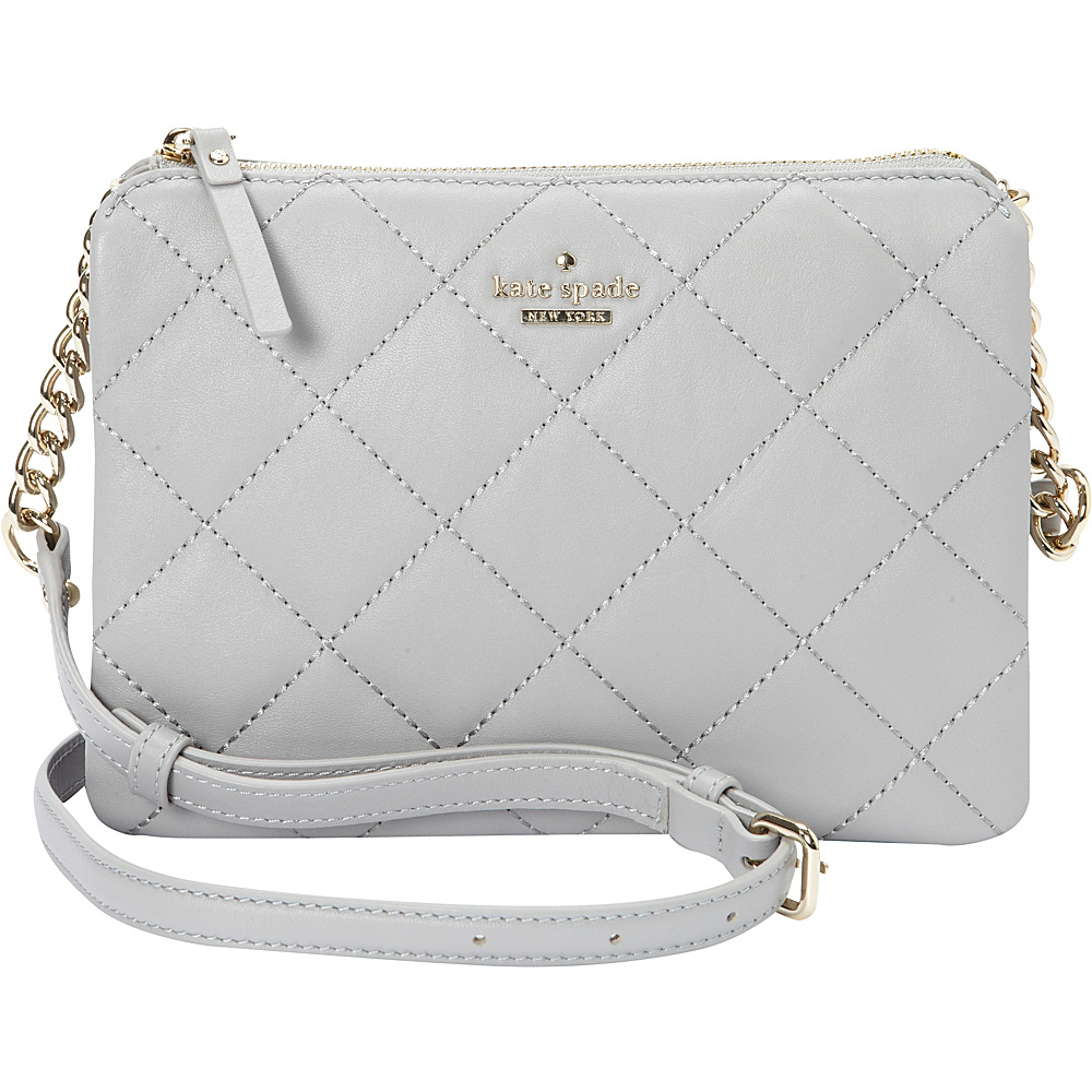 kate spade new york Emerson Place Harbor Crossbody City Fog kate spade new york Designer Handbags