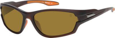 Timberland Eyewear Rimmed Matte Sunglasses Matte Brown - Timberland Eyewear Sunglasses