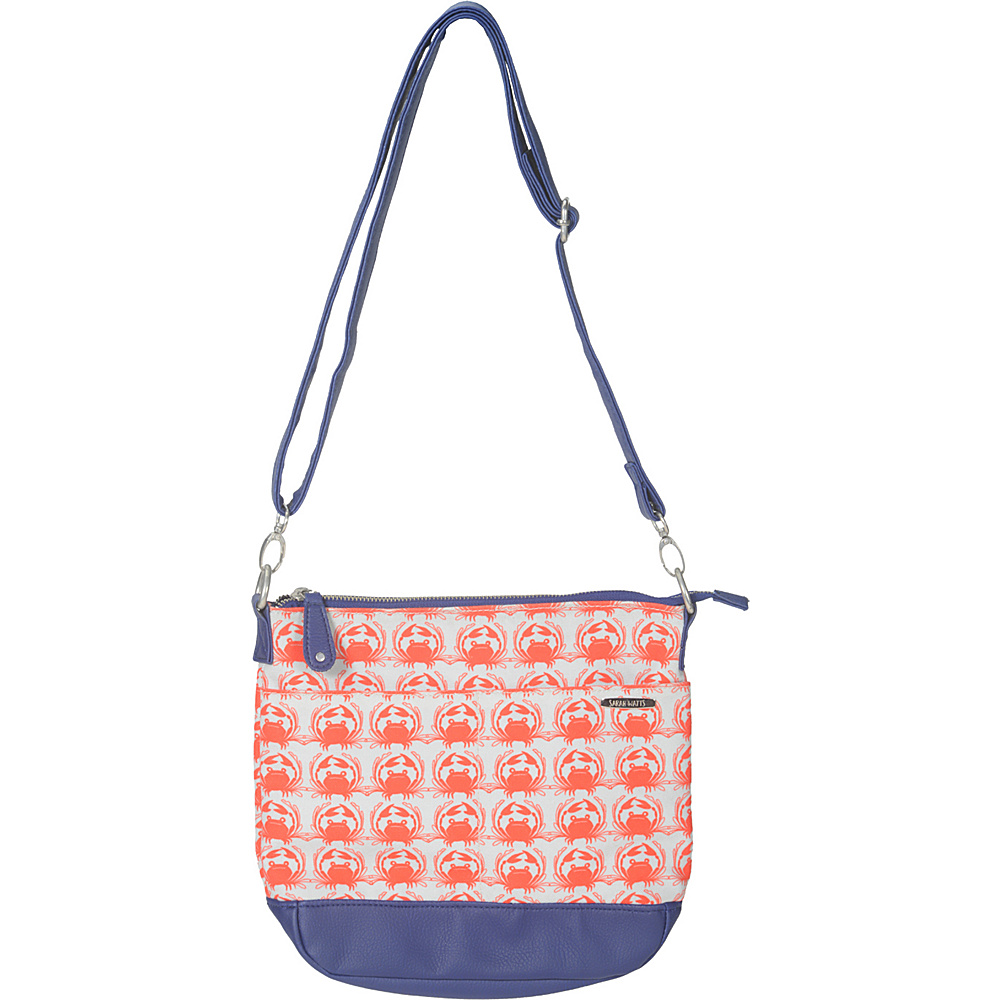 Capri Designs Sarah Watts Crossbody Crab Capri Designs Fabric Handbags
