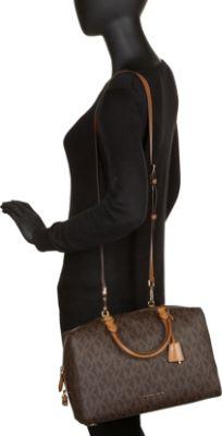 6fdd249cc99ecd michael kors kirby large leather satchel black   Atlanta Moving Boxes