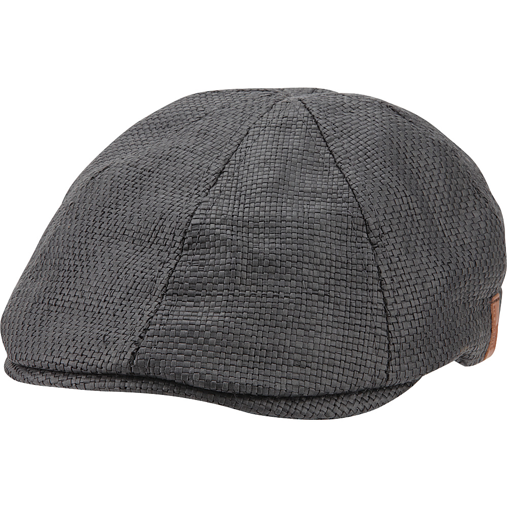 Ben Sherman Straw Driving Cap L/XL - Black - Ben Sherman Hats/Gloves/Scarves