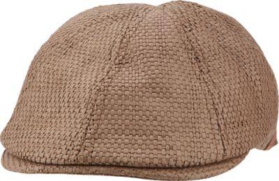 Ben Sherman Straw Driving Cap L/XL - Chocolate - L/XL - Ben Sherman Hats/Gloves/Scarves