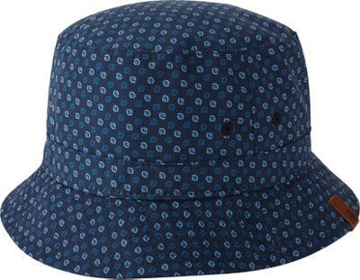Image of Ben Sherman All Over Printed Bucket Hat Navy Blazer - S/M - Ben Sherman Hats