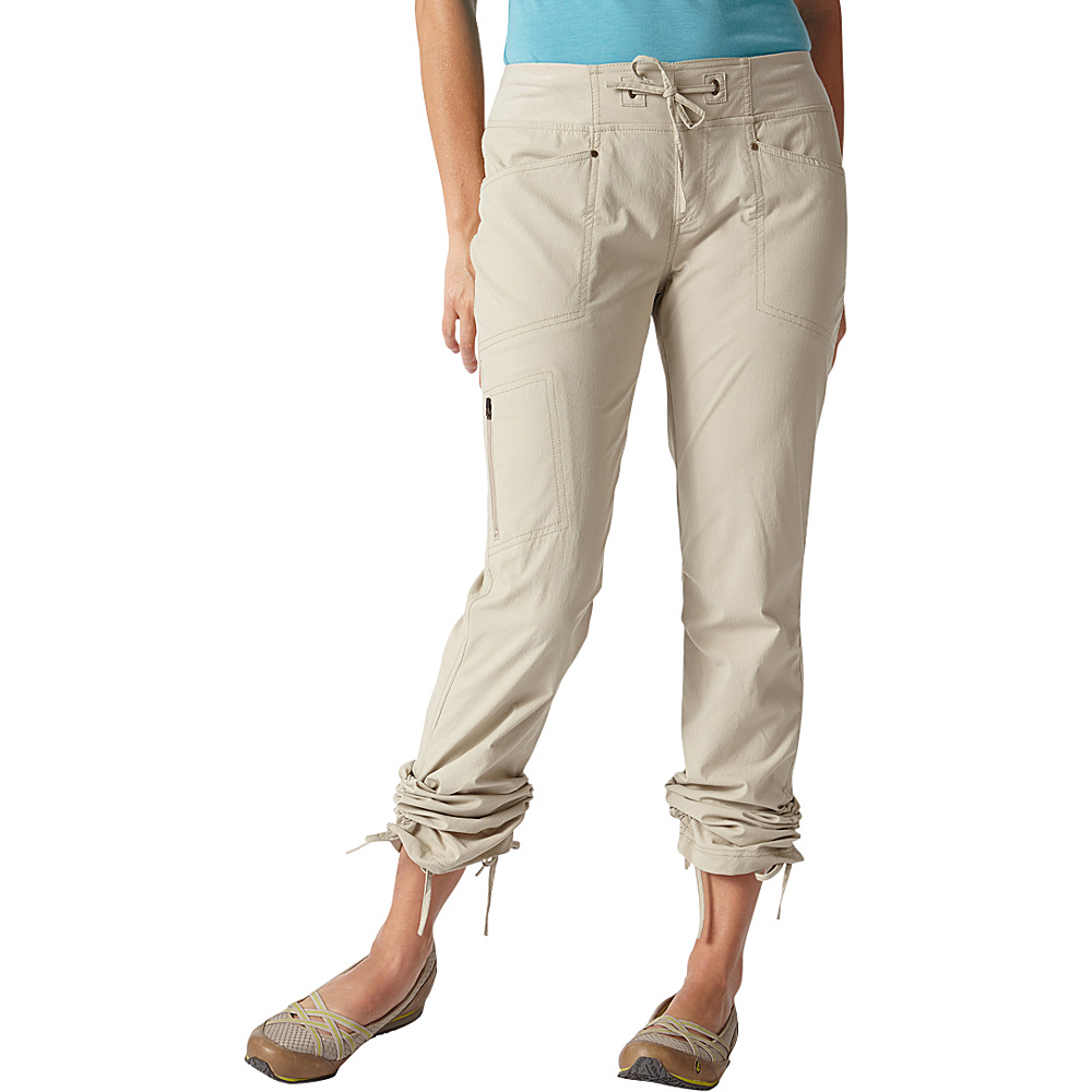 Royal Robbins Womens Jammer Pant L - Light Khaki - Royal Robbins Womens Apparel - Apparel & Footwear, Women's Apparel