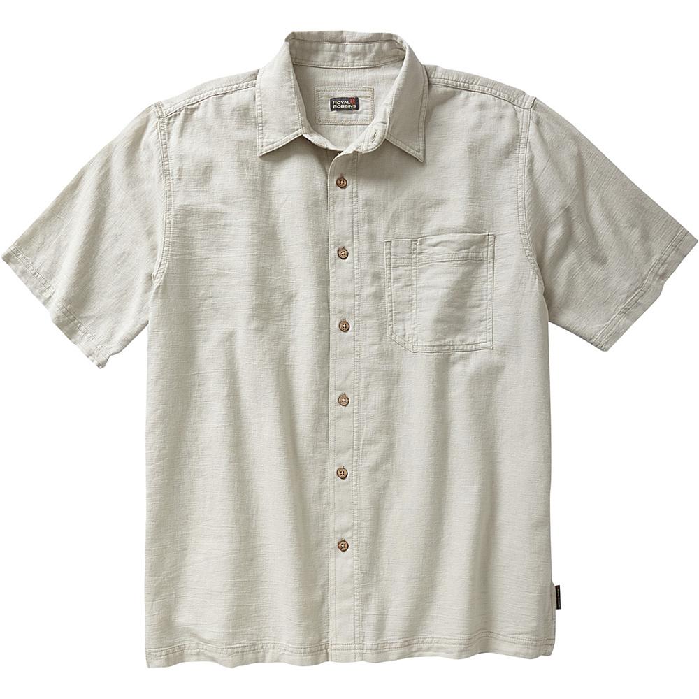 Royal Robbins Cool Mesh Short Sleeve XL - Soapstone - Royal Robbins Mens Apparel - Apparel & Footwear, Men's Apparel
