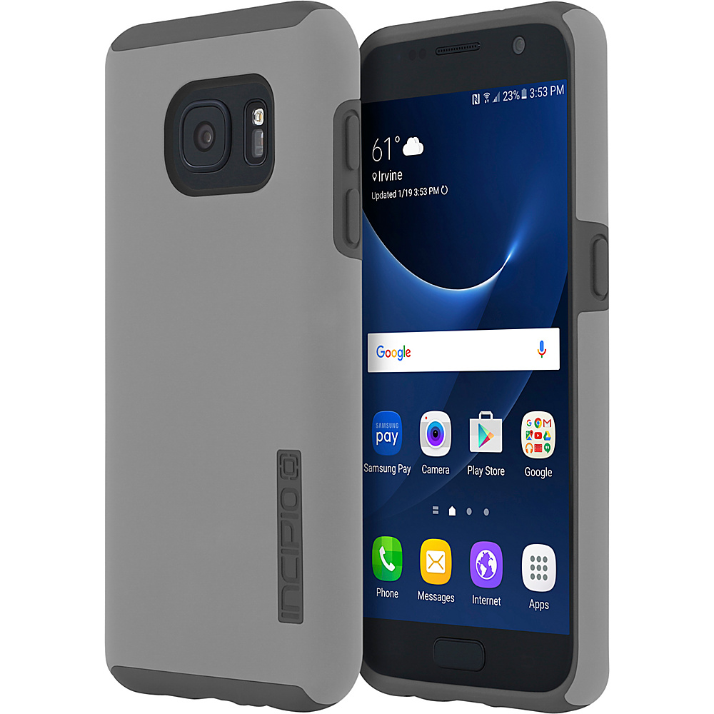 Incipio DualPro for Samsung Galaxy S7 Gray/Gray - Incipio Electronic Cases - Technology, Electronic Cases