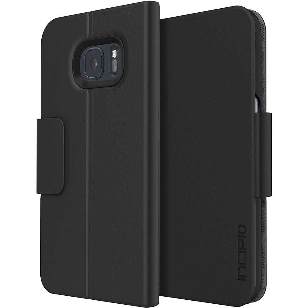 Incipio Corbin Folio for Samsung Galaxy S7 Edge Black - Incipio Electronic Cases - Technology, Electronic Cases