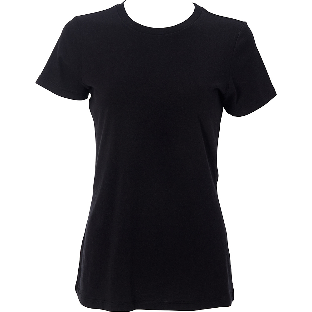 Simplex Apparel The Womens Soft Tee M - Black - Simplex Apparel Womens Apparel - Apparel & Footwear, Women's Apparel