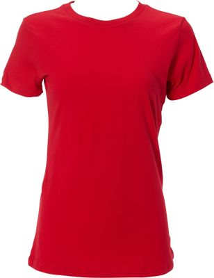 Simplex Apparel The Womens Soft Tee M - Red - Simplex Apparel Women's Apparel