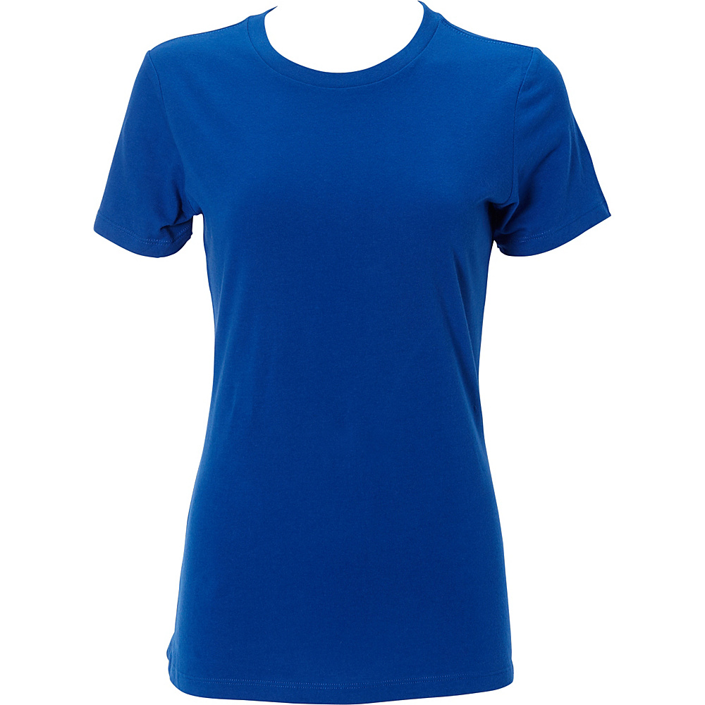 Simplex Apparel The Womens Soft Tee XS Royal Simplex Apparel Women s Apparel