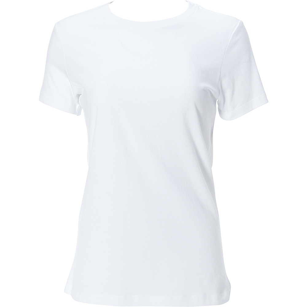 Simplex Apparel The Womens Soft Tee XS - White - Simplex Apparel Womens Apparel - Apparel & Footwear, Women's Apparel