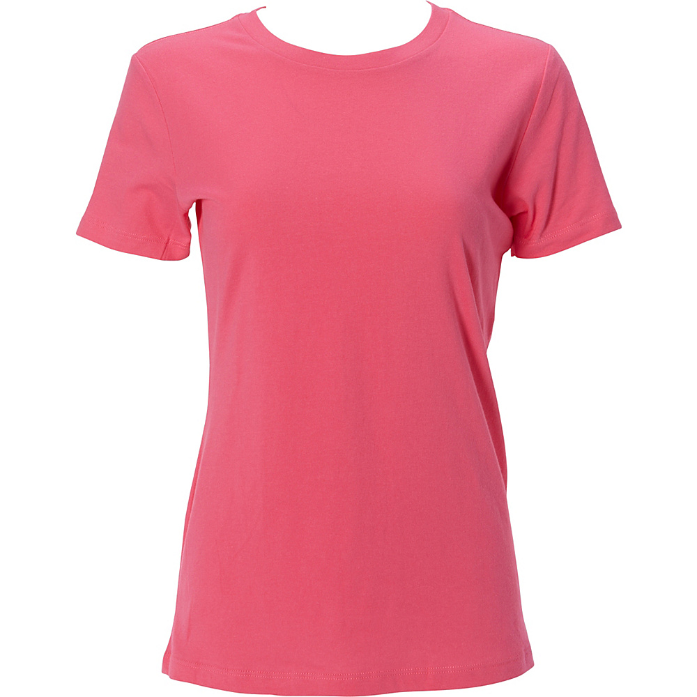 Simplex Apparel The Womens Soft Tee 2XL - Hot Pink - Simplex Apparel Womens Apparel - Apparel & Footwear, Women's Apparel
