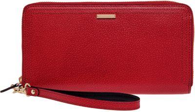 Lodis Stephanie Under Lock & Key Vera Wristlet Wallet Red - Lodis Women's Wallets