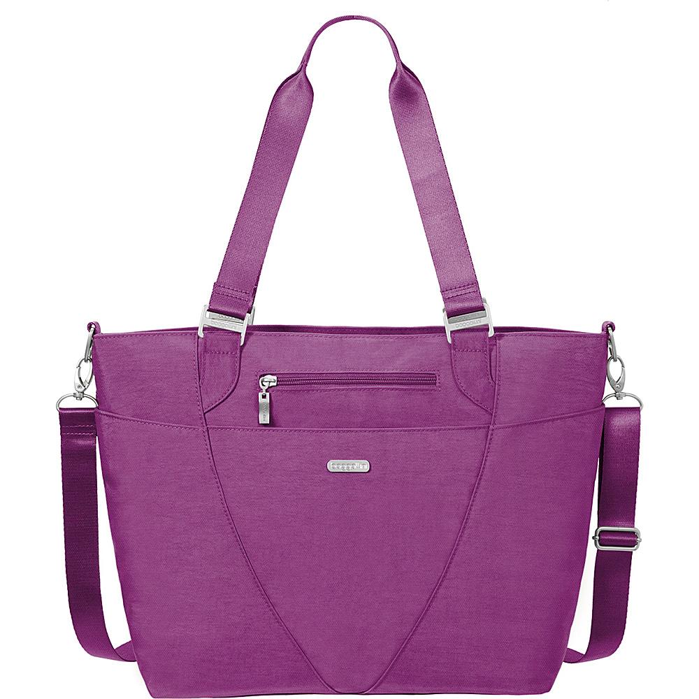 baggallini Avenue Tote- Retired Colors Magenta - baggallini Fabric Handbags - Handbags, Fabric Handbags