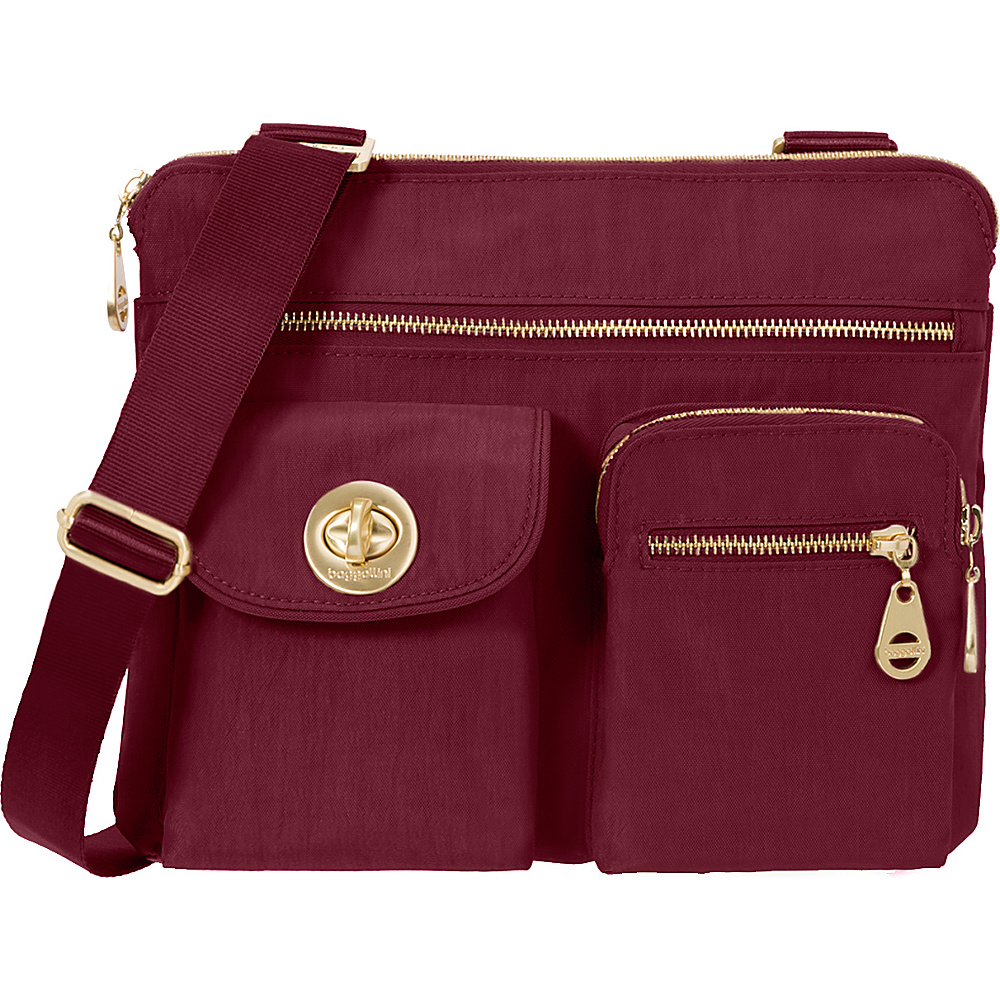 baggallini Gold Sydney- Retired Colors Berry - baggallini Fabric Handbags