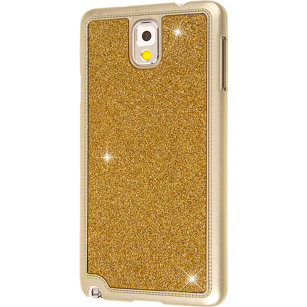 EMPIRE GLITZ Glitter Glam Case for Samsung Galaxy Note 3 Gold EMPIRE Electronic Cases